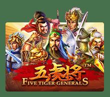 Slotxo Five Tiger Generals